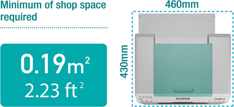 FRONTIER-S compact design