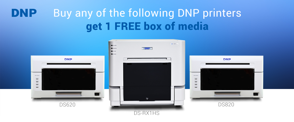 Buy DNP DS620, RX1HS, DS820 get Free Media