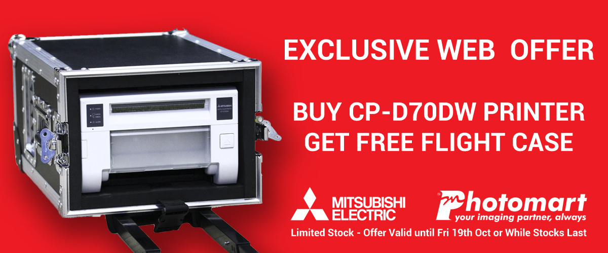 Buy Mitsubishi CP-D70DW get Free Flight Case