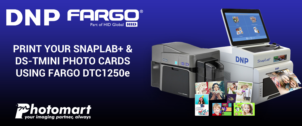 Print ID Cards from Snaplab using Fargo DTC1250e Card Printer